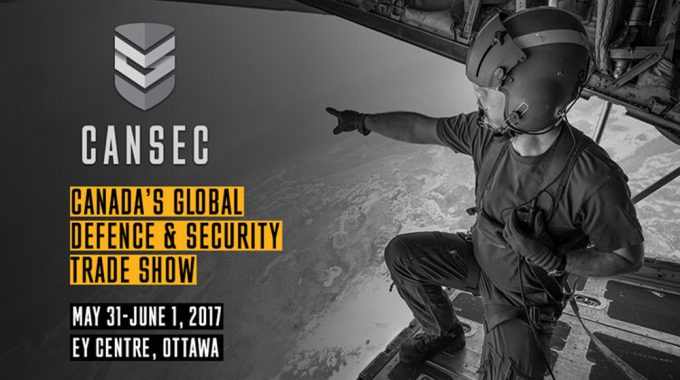 Visit Us @ CANSEC 2017 – Booth 109